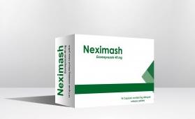 نيكسيماش Neximash كبسول عقار ينتمى إلى فئة من الأدوية تسمى ، مثبطات مضخة البروتون ، و هى مجموعة من العقاقير تعمل على تقليل إفراز حامض المعدة .