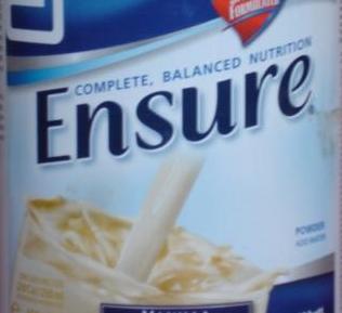 إنشور ENSURE مسحوق ℗ غذاء متكامل و متوازن