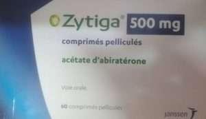 ZYTIGA 500MG 60 tablets