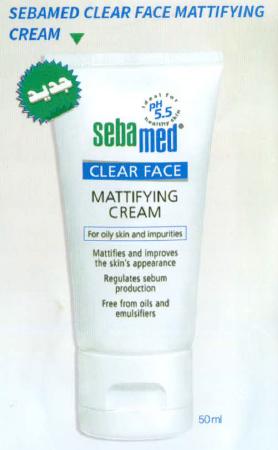 SEBAMED CLEAR FACE ❶ وداعاً لمشاكل البشرة الدهنية