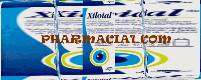 قطرة زيلويال XILOIAL المرطبة للعين