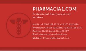 Pharmacia1.com business card