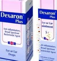 قطرات ديكسارون بلس للعين أو الأذن