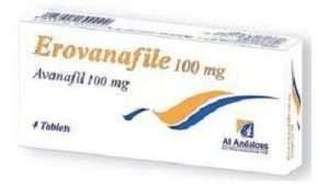 Erovanafile- avanafil tablet