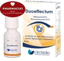 ديوافيكتوم قطرات العين المعقمة | DUOEFFECTUM