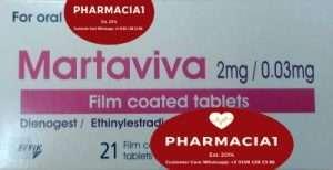 MARTAVIVA 0.03-2MG 21 TABLETS
