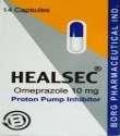 HEALSEC 10MG 14 CAPS.