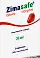زيماسيف 100 مجم شراب معلق  Zimasafe
