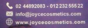 joyce cosmetics