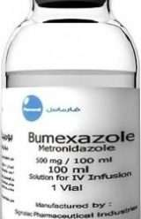 Bumexazole- metronidazole solution for IV infusion