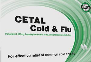 CETAL COLD & FLU caplets