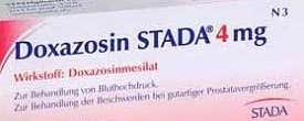 دوكسازوسين ستادا أقراص البروستاتا وضغط الدم