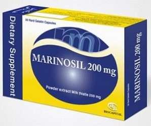 مارينوسيل 200- كبسولات الوقاية والعلاج من أمراض الكبد