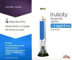 تروليسيتي حقن أسبوعية للتحكم في سكر الدم- TRULICITY