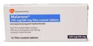 Malarone tablets
