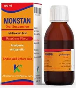 Monstan - Mefenamic Acid Suspension