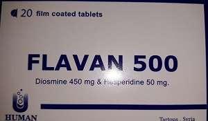 FLAVAN 500 TABLETS