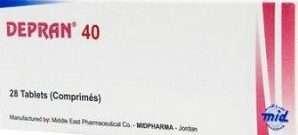 ديبران 20 أو 40 مجم: دواء الإكتئاب والوسواس والقلق العام