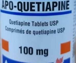 كويتيابين- دواء لمعالجة الاضطرابات المزاجية والعقلية