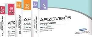 Arizover IS ARIPIPRAZOLE brand in Iran