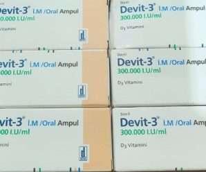 ديفيت-٣ حقن… فيتامين دي٣ – ٣٠٠ ألف وحدة دولية