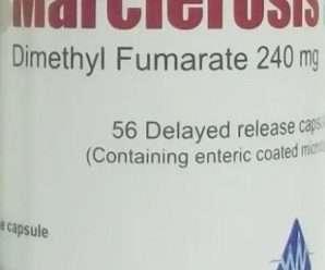 تيكفيديرا 120 أو 240 مليجرام كبسولات دايميثيل فومارات الفموية للتصلب المتعدد والصدفية