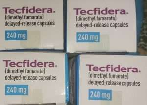 TECFIDERA 240 MG DIMETHYL FUMARATE capsules by BIOGEN IDEC , UNITED STATES imported in egypt by EGYPTIAN PHARMACEUTICAL TRADING COMPANY