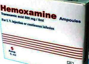 هيموكسامين {حبوب أو حقن}.. حمض الترانيكساميك للوقاية والحد من النزيف