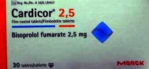 CARDICOR- BISOPROLOL FUMARATE BY MERK