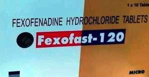 FEXOFAST 120, 180 mg tablets: Uses, Dosage, FAQ