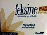 FEKSINE 120, 180 mg tablets: Uses, Dosage, FAQ