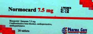 NORMOCARD TABLETS- BISOPROLOL BY PHARMA CURE PHARMACEUTICALS- EGYPT