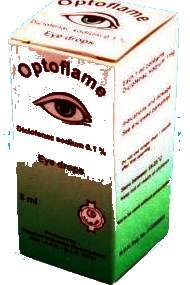 OPTOFLAME- diclofenac sodium ophthalmic drops by CID Egypt