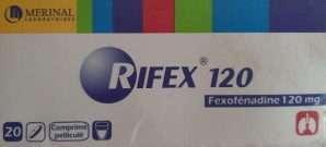 RIFEX 120, 180 mg tablets: Uses, Dosage, FAQ