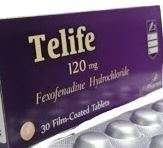 Telife tablets- fexofenadine