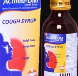 أكتيفيد د.م شراب يخفف السعال الجاف ويعالج أعراض نزلات البرد والحساسية