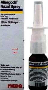 ALLERGODIL 0.1% nasal spray by MEDA PHARMA GmbH & CO. KG