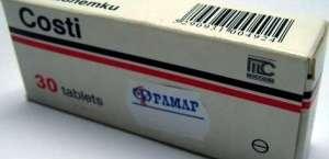 COSTI 10 mg DOMPERIDONE tablets by MEDOCHEMIE LTD, CYPRUS.