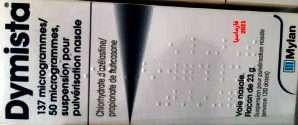 مضادات إحتقان أنفية: بخاخ ديميستا الأنفي