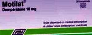 أَدْوِيَة ٱِضْطِرابات الجِهاز الهَضْمِيّ الوَظِيفِيَّة: موتيلات 10 مجم أقراص فَمَوِيَّة لِعِلاج الغَثَيان وَ القَيْء