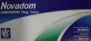 Novadom - domperidone tablets by ABC Farmaceutici SpA - italy