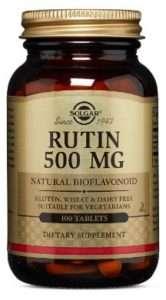 SOLGAR ® RUTIN 500MG NATURAL BIOFLAVONOID TABLETS