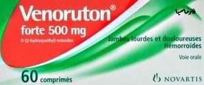 أدوية الدوالي والبواسير: فينوروتون كبسولات – فينوروتون فورت أقراص فموية