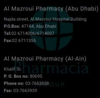Al Mazroui Pharmacies