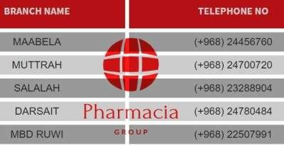 Capital pharmacy Branches- Oman