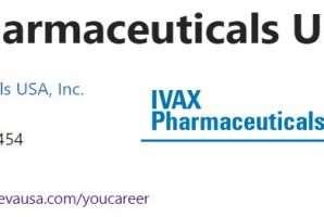 الولايات المتحدة الأمريكية – أيفاكس للصناعات الدوائية المحدودة