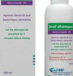 دروف شامبو لعلاج قشرة الشعر وإلتهاب الجلد الدهني