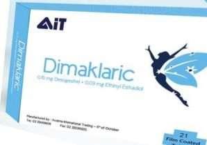 ديماكلاريك لمنع الحمل – العبوة 21 قرص | Dimaklaric