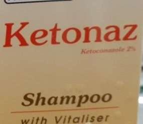 كيتوناز شامبو لعلاج قشرة الشعر وإلتهاب الجلد الدهني