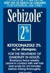 سيبيزول شامبو لعلاج قشرة الشعر وإلتهاب الجلد الدهني